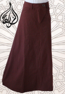 Islamic Skirts, long fishtail skirt