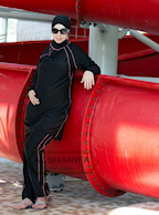 islamic swimsuit for women, girls burkini, by Alsharifa