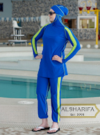 islamic swimsuit for women, burkini, veilkini, alsharifa