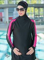 islamic swimsuits for women, muslimah swimwear, maillot de bain islamique